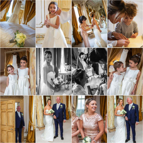 Bridal prep montage Gosfield Hall - 1