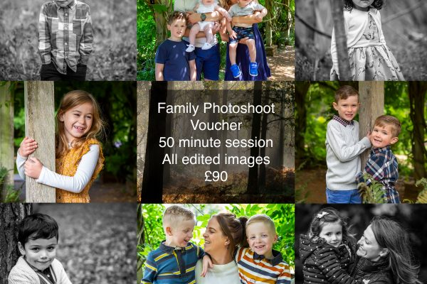 family photos photoshoot vouchers buy local Chelmsford Essex